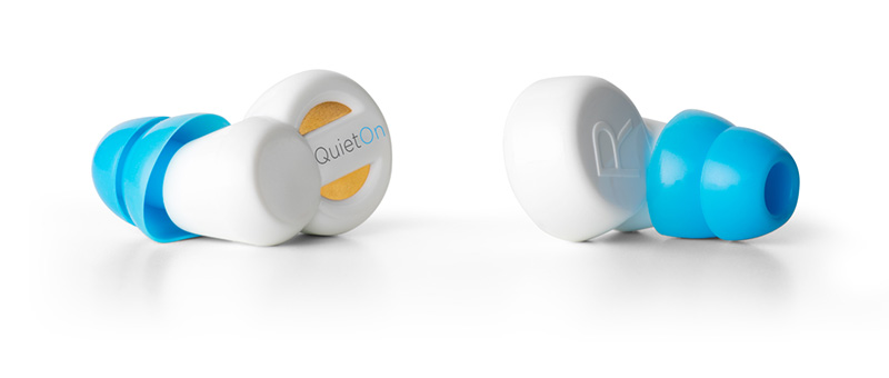 QuietOn Active noise cancelling earbuds