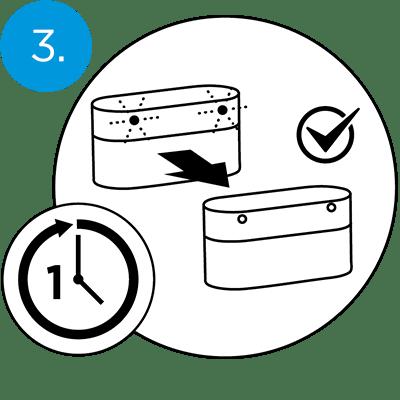 QuietOn Dental charging - step 3