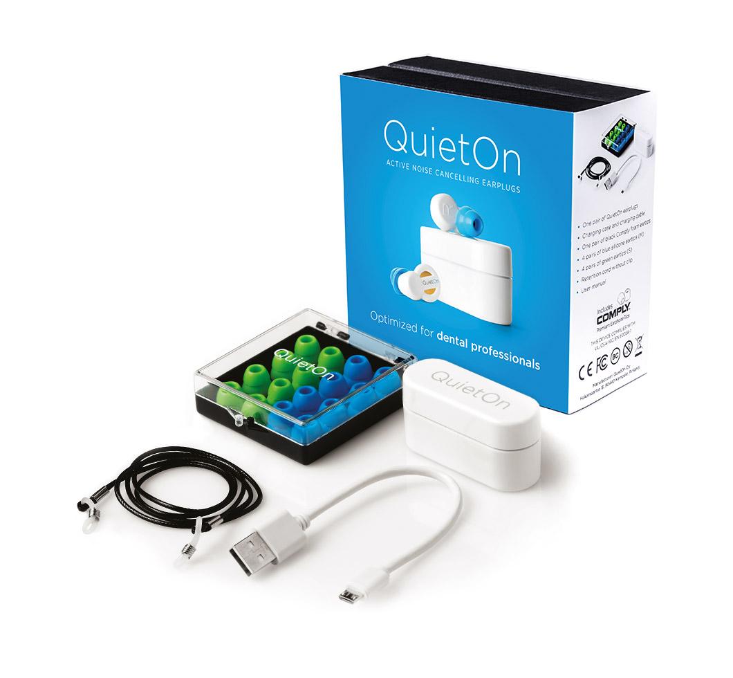 QuietOn Dental package
